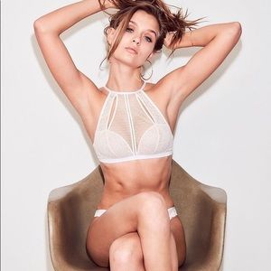 Dashing Victoria Secret Angels Lingerie Teddy Sexy Lace Bra 36b Slip Push Up Black Lace Teddies